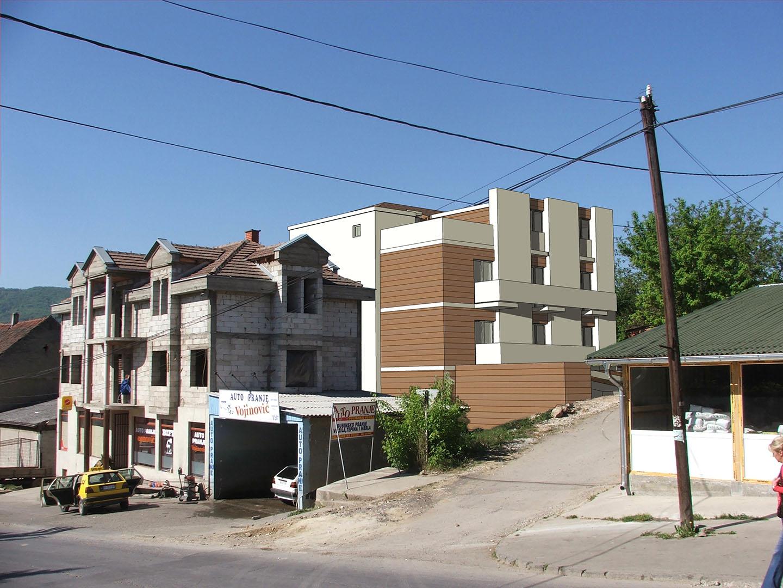 Stambeni objekat Tomic u Arandjelovcu