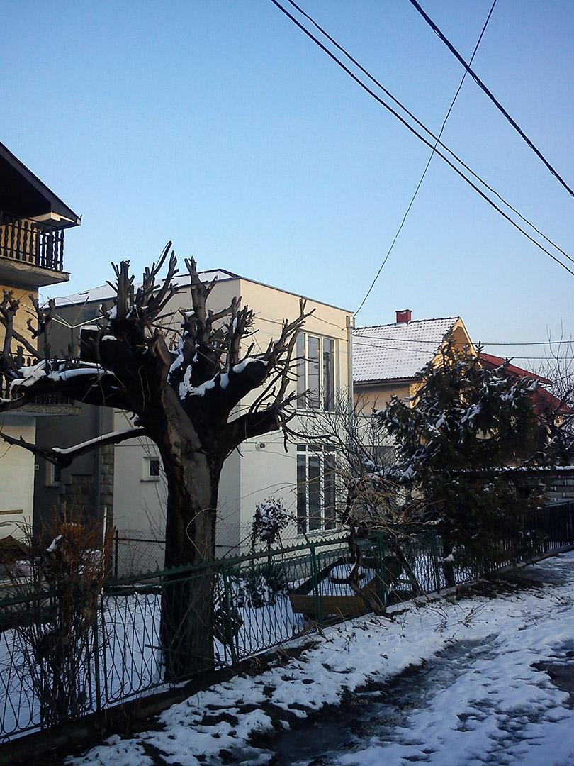 Dogradnja i rekonstrukcija porodicne kuce Rafajlovic u Arandjelovcu