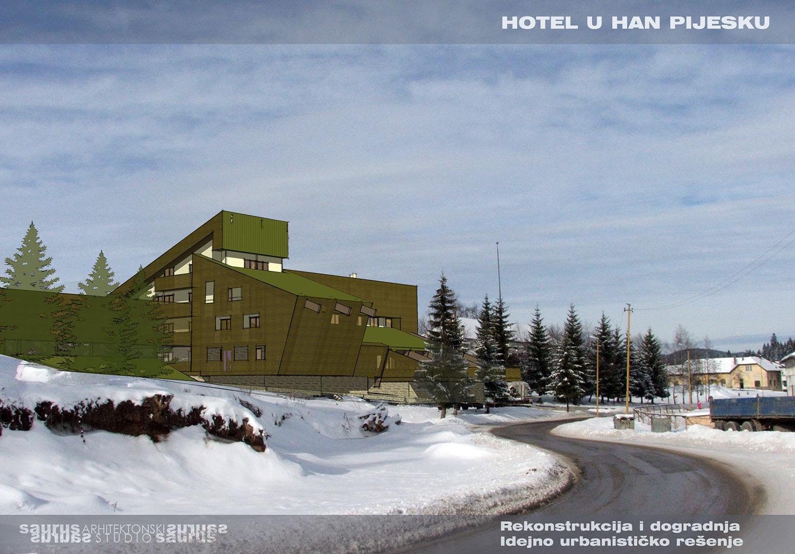 HOTEL GORA I ETNO PARK HAN PIJESAK