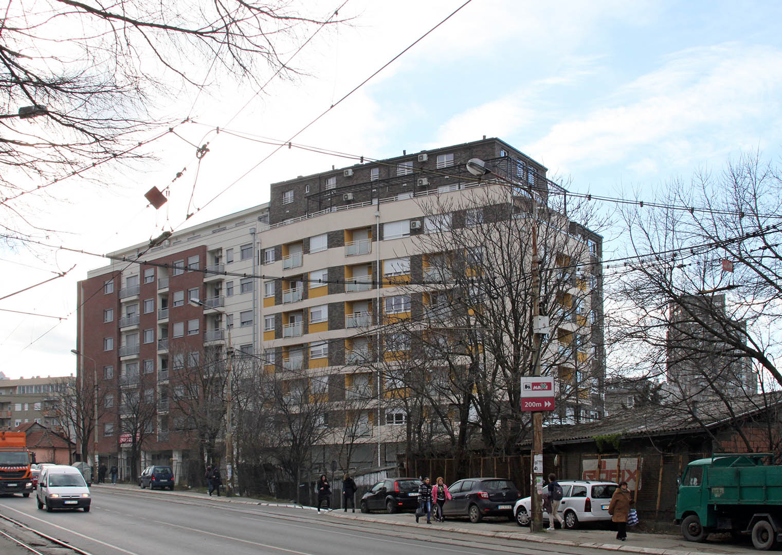 Projekat za građevinsku dozvolu, Madridska 8