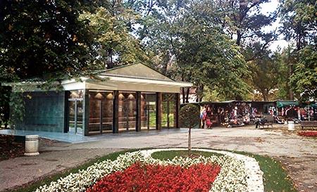 Rekonstrukcije paviljona Talpare Bukovička banja, Aranđelovac, Srbija