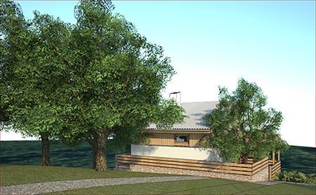 Dizajn kuće u Aranđelovcu